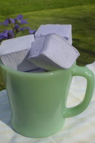 Violet Marshmallows