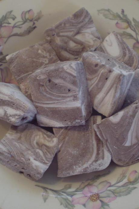 Chocolate and Vanilla Swirl Marshmallows