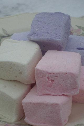 Floral Marshmallow assortment Rose, Lavender and vanilla