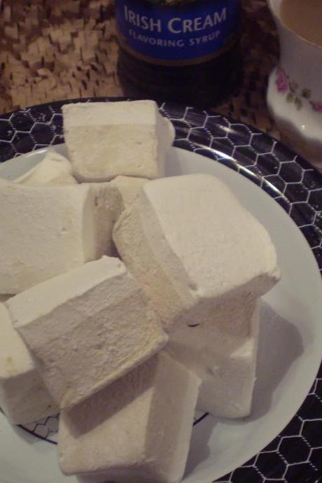 Irish Coffee Marshmallows handmade made to order candy