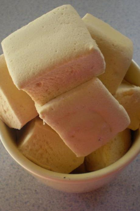 Brown sugar marshmallows butterscotch handcrafted candy