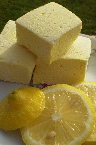 Lemon Marshmallows handcrafted candy